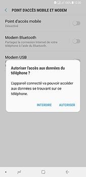 Samsung Galaxy A7 2018 - Internet et connexion - Utiliser le mode modem par USB - Étape 7