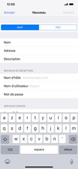 Apple iPhone XR - E-mail - Configuration manuelle - Étape 13