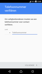 Sony Xperia X (F5121) - Applicaties - Account aanmaken - Stap 7