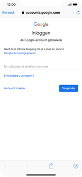 Apple iPhone XS Max - E-mail - e-mail instellen (gmail) - Stap 6