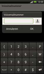HTC T328e Desire X - Voicemail - Handmatig instellen - Stap 7