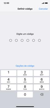 Apple iPhone X - iOS 12 - Segurança - Como ativar o código de bloqueio do ecrã -  5