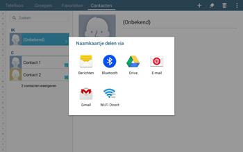 Samsung Galaxy Tab4 10.1 4G (SM-T535) - Contacten en data - Contacten overzetten via Bluetooth - Stap 9