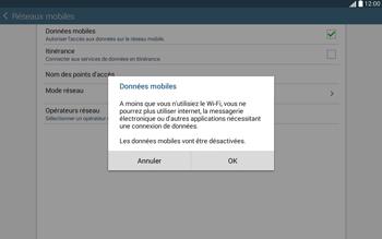 Samsung T535 Galaxy Tab 4 10-1 - Internet - Activer ou désactiver - Étape 7