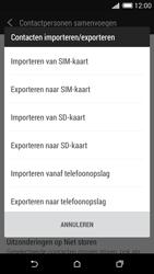 HTC Desire 620 - Contacten en data - Contacten kopiëren van toestel naar SIM - Stap 7