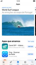 Apple iPhone iOS 11 - Aplicativos - Como baixar aplicativos - Etapa 5