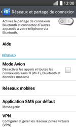 LG F70 - Internet et connexion - Activer la 4G - Étape 5