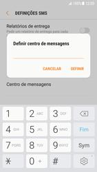 Samsung Galaxy S7 - Android Nougat - SMS - Como configurar o centro de mensagens -  9