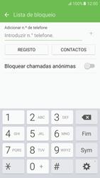 Samsung Galaxy S6 Android M - Chamadas - Como bloquear chamadas de um número -  8