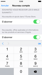 Apple iPhone 5s - iOS 8 - Applications - Créer un compte - Étape 17
