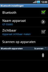 Samsung S5660 Galaxy Gio - Bluetooth - koppelen met ander apparaat - Stap 11