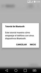 LG K4 (2017) - Bluetooth - Conectar dispositivos a través de Bluetooth - Paso 4