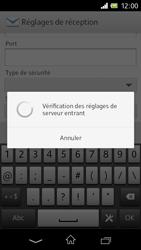 Sony C1905 Xperia M - E-mail - Configuration manuelle - Étape 10