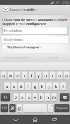 Sony D5803 Xperia Z3 Compact - E-mail - Account instellen (IMAP zonder SMTP-verificatie) - Stap 5