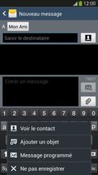 Samsung I9505 Galaxy S IV LTE - MMS - envoi d'images - Étape 9