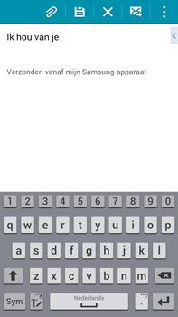 Samsung N910F Galaxy Note 4 - E-mail - hoe te versturen - Stap 19