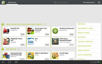 Samsung P7500 Galaxy Tab 10-1 - Aplicaciones - Descargar aplicaciones - Paso 10