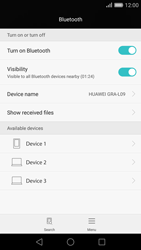 Huawei P8 - Bluetooth - Pair with another device - Step 5