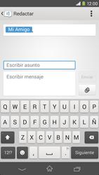 Sony Xperia M2 - Mensajería - Escribir y enviar un mensaje multimedia - Paso 12