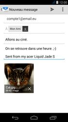 Acer Liquid Jade S - E-mail - Envoi d