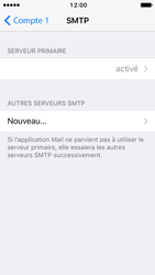 Apple iPhone 5s iOS 10 - E-mail - Configuration manuelle - Étape 18