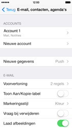 Apple iPhone 5s iOS 8 - E-mail - Handmatig instellen - Stap 29
