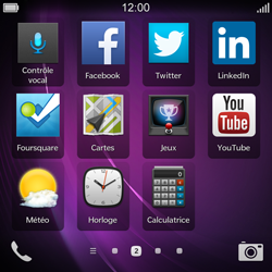 BlackBerry Q10 - Applications - Supprimer une application - Étape 6