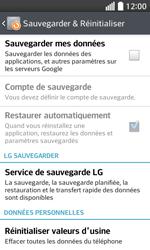 LG F70 - Aller plus loin - Restaurer les paramètres d'usines - Étape 6