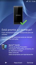 Sony Xperia E4 - Primeiros passos - Como ligar o telemóvel pela primeira vez -  11