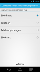 KPN Smart 300 - Contacten en data - Contacten kopiëren van SIM naar toestel - Stap 6