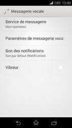 Sony Xperia E3 - Messagerie vocale - configuration manuelle - Étape 7