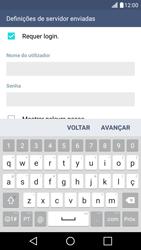 LG K10 4G - Email - Configurar a conta de Email -  16
