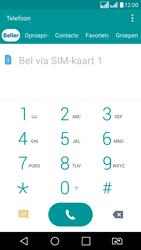 LG K8 - Voicemail - handmatig instellen - Stap 5
