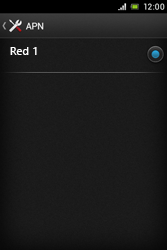 Sony Xperia E - Internet - Configurar Internet - Paso 8