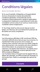 Microsoft Lumia 950 - Applications - MyProximus - Étape 12
