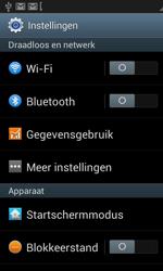Samsung I8190 Galaxy S III Mini - Netwerk - Wijzig netwerkmodus - Stap 4