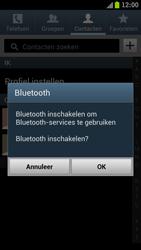Samsung I9300 Galaxy S III - Contacten en data - Contacten overzetten via Bluetooth - Stap 7