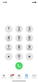 Apple iPhone X - iOS 12 - Chamadas - Como bloquear chamadas de um número -  3