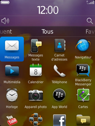 BlackBerry 9810 Torch - E-mail - Envoi d