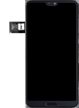 Huawei P20 pro - Premiers pas - Insérer la carte SIM - Étape 4