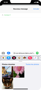 Apple iPhone XS Max - iOS 13 - MMS - envoi d'images - Étape 10
