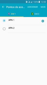 Samsung Galaxy J7 - Internet (APN) - Como configurar a internet do seu aparelho (APN Nextel) - Etapa 18