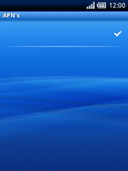 Sony Ericsson Xperia X10 Mini - Internet - Handmatig instellen - Stap 13