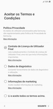 Samsung Galaxy Note9 - Primeiros passos - Como ligar o telemóvel pela primeira vez -  8