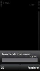 Nokia X6-00 - E-mail - Handmatig instellen - Stap 15