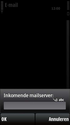 Nokia X6-00 - E-mail - e-mail instellen: POP3 - Stap 14