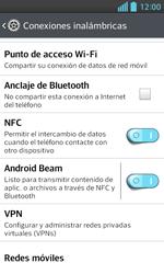 LG Optimus L5 II - Mensajería - Configurar el equipo para mensajes multimedia - Paso 5