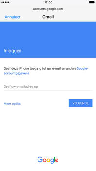 Apple iPhone 6 Plus iOS 10 - E-mail - handmatig instellen (gmail) - Stap 6