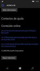 Microsoft Lumia 650 - Repor definições - Como repor definições de fábrica do telemóvel -  7