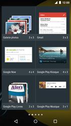 Motorola Moto E (1st Gen) (Lollipop) - Applications - Personnaliser l